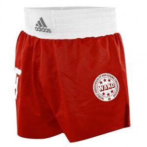 Kick Boxing Shorts von Adidas, red/blue , Gr. XXS - XXL , Wako, Kickboxen,