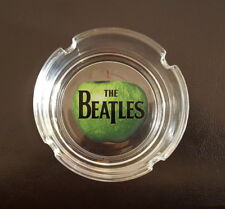 The Beatles Apple Logo Glass Round Ashtray prop