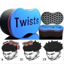 Mens DIY Hair Barber Magic Twist Sponge Brush Dread Locking Coil Afro Curl Tool