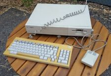 Commodore Amiga 1000 Computer with Keyboard, Mouse, and Ram Expansion.  Vintage