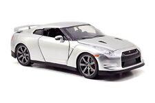 Nissan Gt-r 35 2009 Fast & Furious 7 silver 1 24 Model Jada Toys