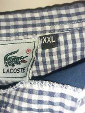 Mens lacoste polo shirt xxl