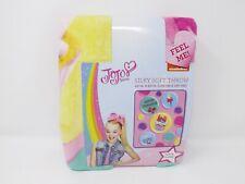 Jay Franco & Sons JoJo Siwa Silky Soft Fleece Throw -- New