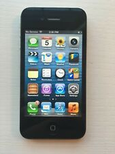 RARE iOS 6 Apple iPhone 4s | Black Unlocked! A1387 (CDMA + GSM) Great Condition!