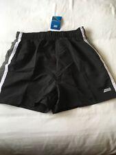 Mens Zoggs Muriwai Swim Mesh Lining Swimming Black/grey Shorts XL