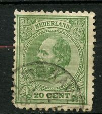 Netherlands 1872-91 SG#103 20c Green P12.5 Used #A42233