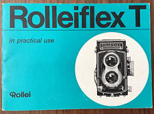 Rolleiflex T In Practical Use Instruction Manual Original- English