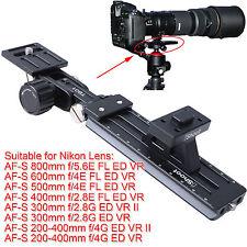 Téléobjectif support pour Nikon Af-s 500mm 600mm f/4e FL Ed vr trépied Bride de