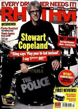 RHYTHM DRUMMER MAGAZINE +CD 2007 SEP STEWART COPELAND, CARTER BEAUFORD, VINNIE A
