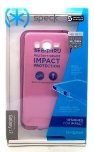Original Speck CandyShell Dual Layer Case Cover For Samsung Galaxy J7 Purple NEW