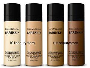 BAREMINERALS Bareskin Pure Brightening Serum Foundation SPF20 SELECT COLOR noBox