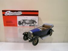 SOMERVILLE MODELS 126 VOLVO JAKOB 1927 DARK BLUE + BOX SCALE 1:43