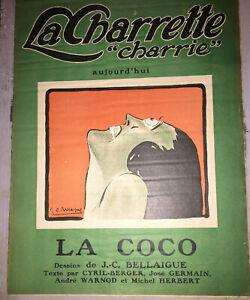 """LA CHARRETTE """"CHARRIE"""".1922-1923. COLLECTION COMPLÉTE."""