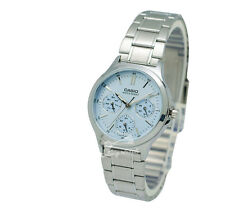 -Casio LTPV300D-2A Ladies' Metal Fashion Watch Brand New & 100% Authentic