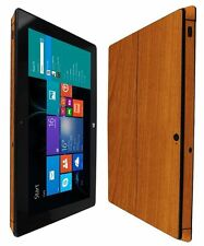 Skinomi Light Wood Skin+Clear Screen Protector Cover for Microsoft Surface Pro 2