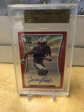 JAMES PROCHE 2020 Leaf Metal Wave Red Slabbed Proof AUTO / AUTOGRAPH # 1/1