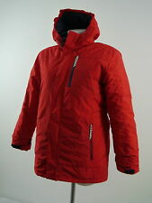 + LANDS'END Kd. Steppjacke grow-a-longs 2-lagig Kapuze rot Gr.152/164 NEU