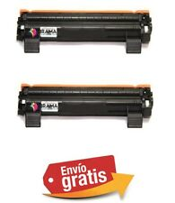 2 X TONERS COMPATIBLES NON OEM BROTHER TN-1050 DCP1510 , DCP1512 , HL1110