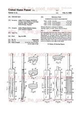 United States PATENT : CRICKET BAT 1980 Gray Nicolls Scoop -A4 Printed Repro Art