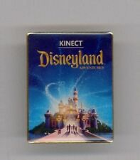 Disney Disneyland Adventures XBOX 360 Game Sleeping Beauty Castle Kincet Pin