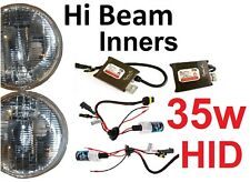 "5 3/4"" 143mm Hi Beam Inner Headlights Lights kit with 35w JTX A1 Premium HID Kit"