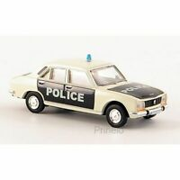 BREKINA 29108 1/87 HO PEUGEOT 504 BERLINE POLICE FRANCE VOITURE MINIATURE H0