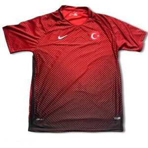 Nike Turkey Turkiye 2016 Home Football Shirt 4XL