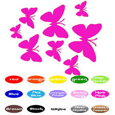 Butterflies Family Decals vinyl wall decals stickers home window door decor car