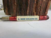 Vintage A. Reed Wilson Sanitary Supply Kansas City Missouri Bullet Pencil E3