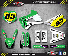 1998 - 2013 Kawasaki KX 85 Full custom graphics kit REBOUND STYLE stickers decal