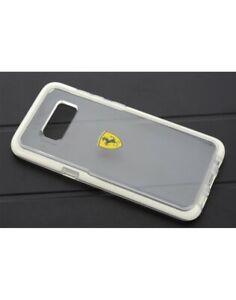 Original FERRARI Racing Shield Hülle Samsung Galaxy S8+ Plus Case Transparent