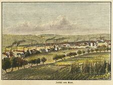 Gera-Veduta generale-kolorierter legno chiave 1875