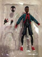 """Marvel Legends Miles Morales Spider-Man Into the Spiderverse Stilt-Man 6"""" Figure"""