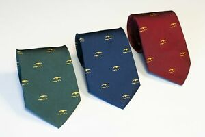 GWCT Tie - Grouse Covey Motif - Game & Wildlife Conservation Trust