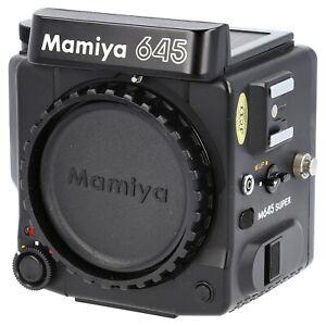 Mamiya M645 Super Body Only / 6x4.5 Medium Format Film SLR Camera (204363)
