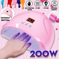 USB LED Nail Dryer UV Lamp Gel Nail Polish Fast Curing Light Timer Sensor Salon