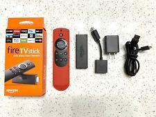 Amazon Fire TV Stick (2nd Gen) Media Streamer with 2nd Gen Alexa Voice Remote