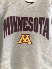 Vintage Starter Minnesota Golden Gophers Crewneck Sweatshirt L