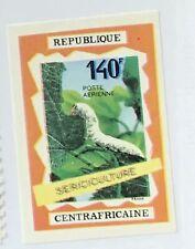 Central African Republic #C83i MNH CV$8.00 Sericulture