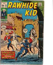 Marvel Comics Rawhide Kid Vol. 1. # 90. August, 1971. VG. App. Kid Colt.