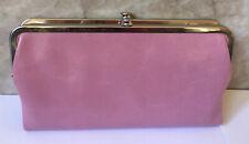 NWT Hobo International Leather Clutch Wallet, Lauren, Lilac, $138