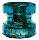 CD+1104+Hemi+Blue+HEMINGRAY+103+Antique+Glass+Spool+Insulator%21%21+GREAT+PIECE+%23L70