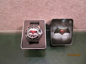 Batman VS Superman Watch with Collectible Tin