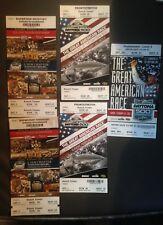 Nascar Ticket Stub Lot Used Unused Daytona Darlington Charlotte