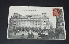 CPA 1910 CARTE POSTALE FRANCE PARIS GARE SAINT-LAZARE