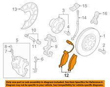 AUDI OEM 2008 A3 Brake-Front Pads 5K0698151