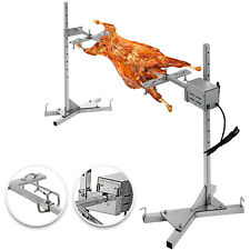 Large Grill Rotisserie Spit Roaster Rod Electric BBQ Pig Chicken 56KG Motor Kit
