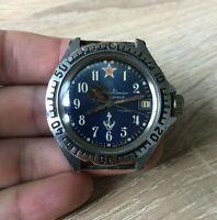 Watch Vostok Komandirskie Zakaz MO Wostok Vintage Wristwatch USSR Russia Soviet