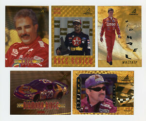 1997 Pinnacle Trophy Collection Parallel Insert 5 Card Lot Ernie Irvan M Waltrip