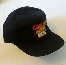 Vintage 90's Beer Miller Genuine Draft Racing rope Snapback Trucker hat 🏁 MGD